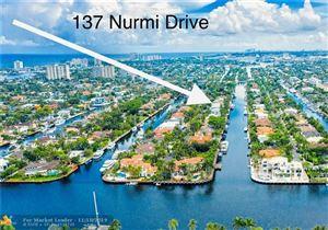 Photo of 137 Nurmi Dr, Fort Lauderdale, FL 33301 (MLS # F10193361)