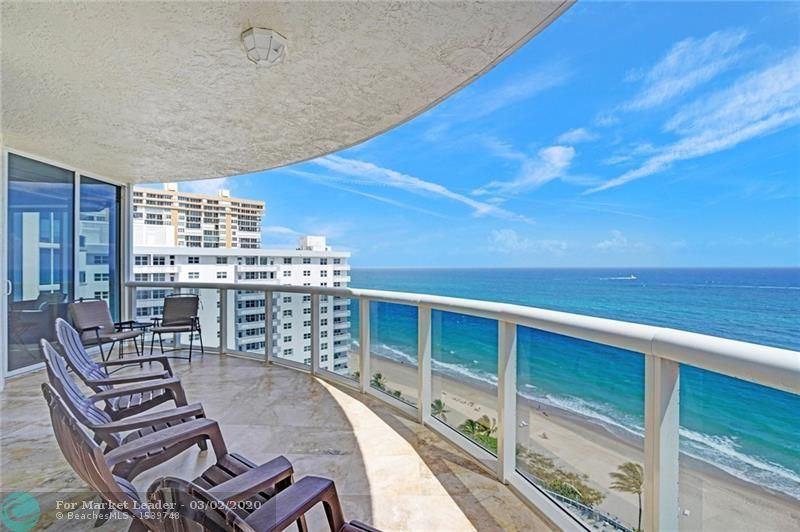 Photo of 4240 Galt Ocean Dr #1605, Fort Lauderdale, FL 33308 (MLS # F10219361)