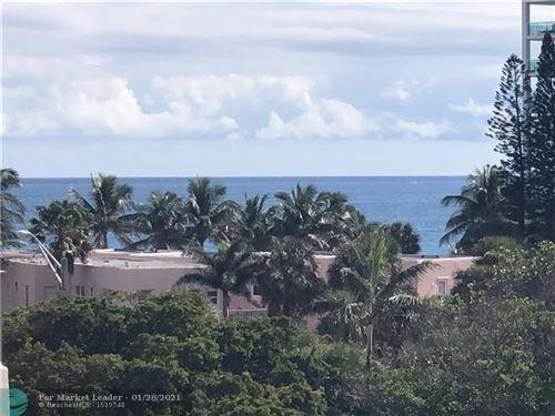 Photo of 1401 S Ocean Blvd #504, Pompano Beach, FL 33062 (MLS # F10268362)