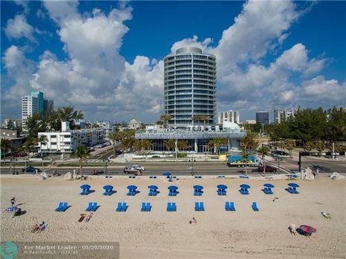 Photo of 701 N Fort Lauderdale Beach Blvd #302, Fort Lauderdale, FL 33304 (MLS # F10231363)