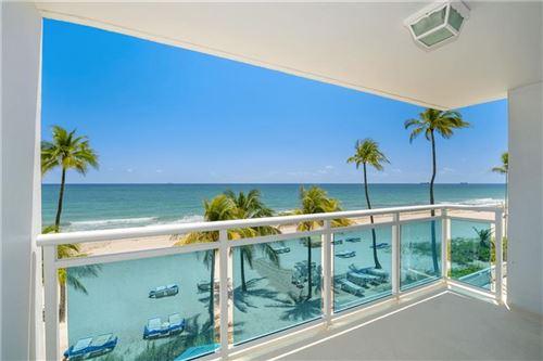 Photo of 3430 GALT OCEAN DRIVE #307, Fort Lauderdale, FL 33308 (MLS # F10282363)