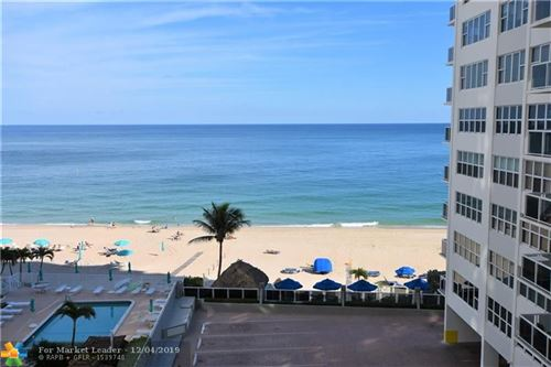 Photo of 3700 Galt Ocean Dr #601, Fort Lauderdale, FL 33308 (MLS # F10205365)