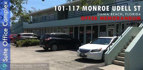 Foto de inmueble con direccion 101 SW 1st St Dania Beach FL 33004 con MLS F10241365