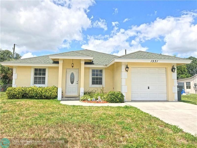 1531 Magnolia Lane, West Palm Beach, FL 33417 - #: F10279365