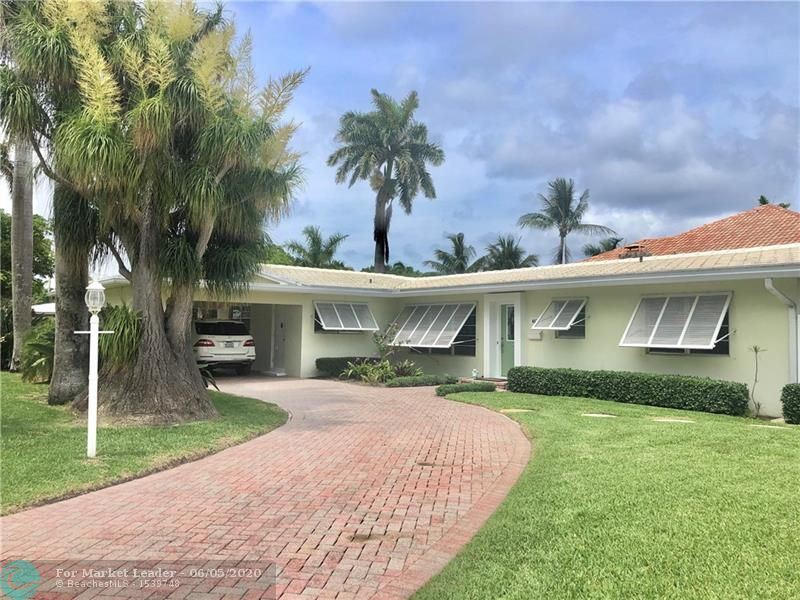 Photo of 4570 W TRADEWINDS AVE, Lauderdale By The Sea, FL 33308 (MLS # F10232367)