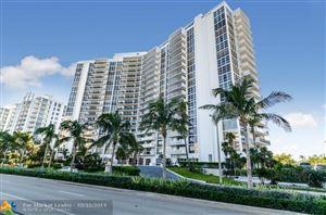 Photo of 2841 N Ocean Blvd #405, Fort Lauderdale, FL 33308 (MLS # F10168368)