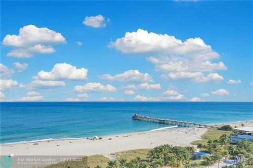 Photo of 328 N Ocean Blvd #807, Pompano Beach, FL 33062 (MLS # F10305370)