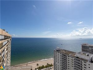 Photo of 4280 Galt Ocean Dr #26D, Fort Lauderdale, FL 33308 (MLS # F10201372)