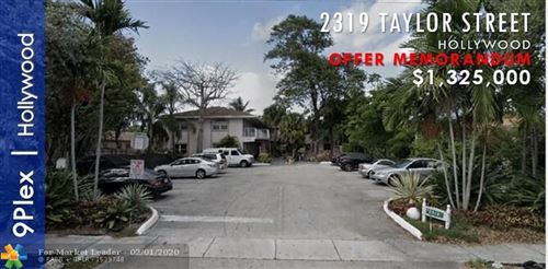 Photo of Listing MLS f10214372 in 2319 Taylor St #1-9 Hollywood FL 33020