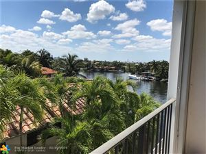 Photo of 1839 Middle River Dr #304, Fort Lauderdale, FL 33305 (MLS # F10168373)