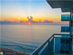 Photo of 3430 GALT OCEAN DR #1105, Fort Lauderdale, FL 33308 (MLS # F10137376)