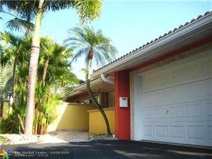 Photo of 2724 NE 30th St, Fort Lauderdale, FL 33306 (MLS # F10190376)