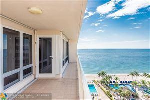 Photo of 4100 Galt Ocean Dr #1106, Fort Lauderdale, FL 33308 (MLS # F10190382)