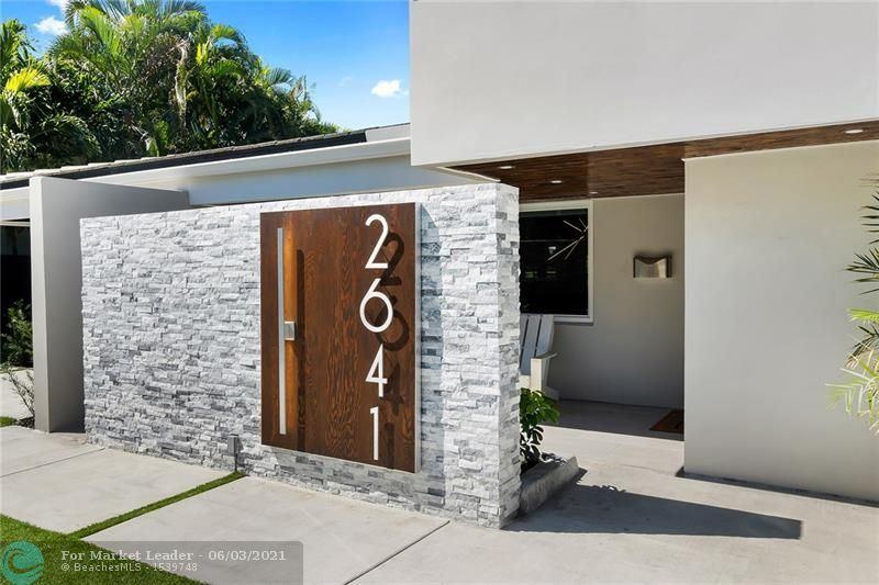 Photo of 2641 NE 27th Ter, Fort Lauderdale, FL 33306 (MLS # F10273386)