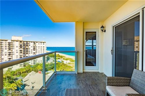 Photo of 6000 N Ocean Blvd #14H, Lauderdale By The Sea, FL 33308 (MLS # F10268388)