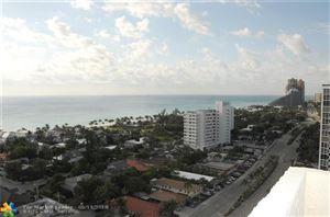 Photo of 3015 N Ocean Blvd #14-K, Fort Lauderdale, FL 33308 (MLS # F10123389)