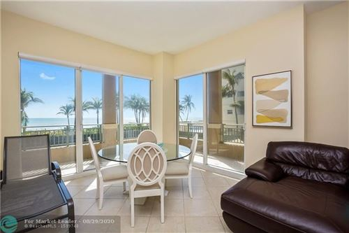 Photo of 2080 S Ocean Dr #111, Hallandale, FL 33009 (MLS # F10246391)