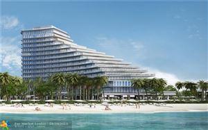 Photo of 2200 N OCEAN BLVD #N203, Fort Lauderdale, FL 33305 (MLS # F10173395)