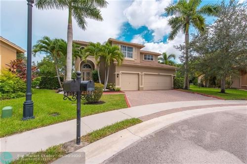 Photo of 4251 E SENECA AV, Weston, FL 33332 (MLS # F10251395)