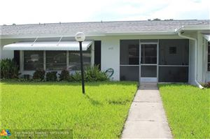 Photo of 1025 NW 85th Ter #C-107, Plantation, FL 33322 (MLS # F10190396)