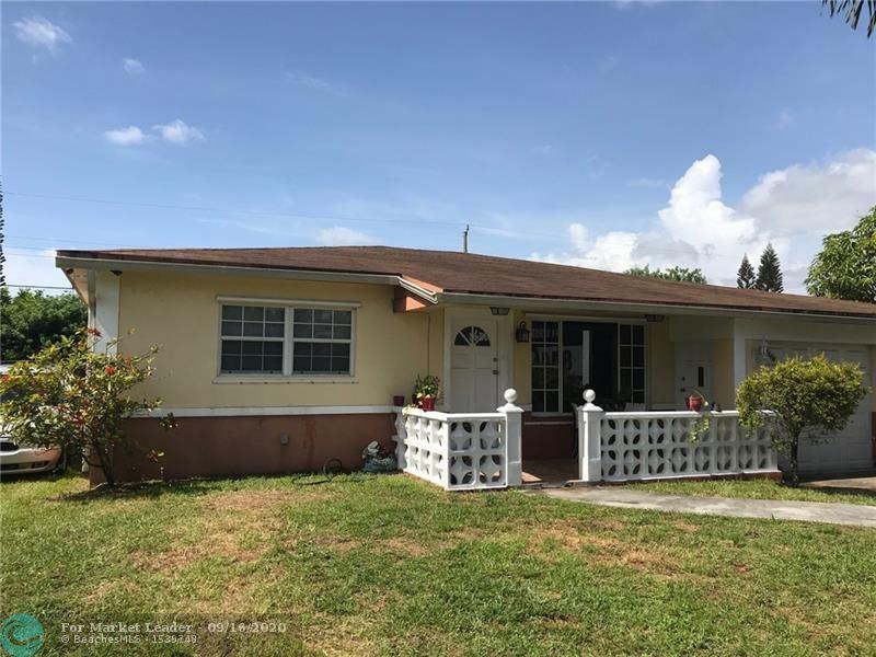 Photo of 6306 SW 20th St, Miramar, FL 33023 (MLS # F10247396)