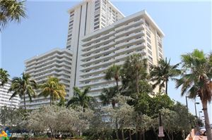 Photo of 3900 Galt Ocean Dr #1001, Fort Lauderdale, FL 33308 (MLS # F10197401)
