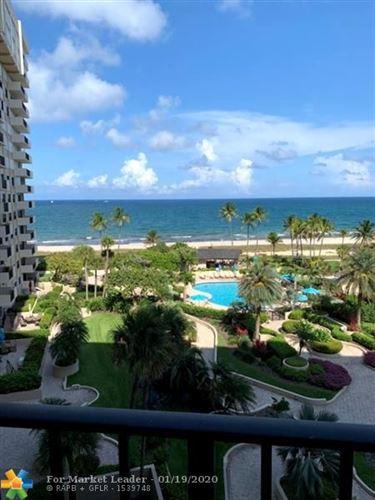 Photo of 5100 N Ocean Blvd #713, Lauderdale By The Sea, FL 33308 (MLS # F10211401)