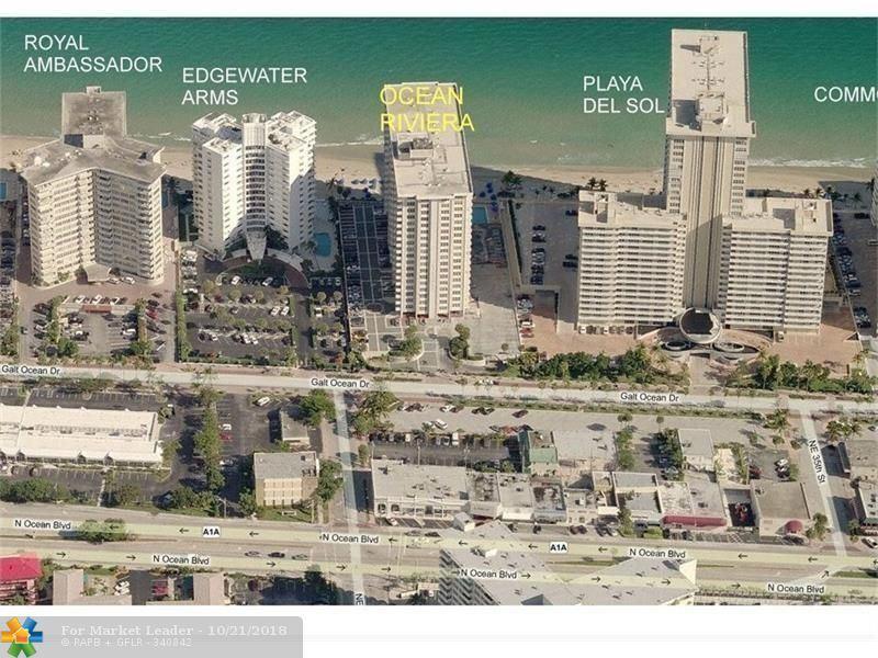 Photo of 3550 Galt Ocean Dr #1708, Fort Lauderdale, FL 33308 (MLS # F10146404)