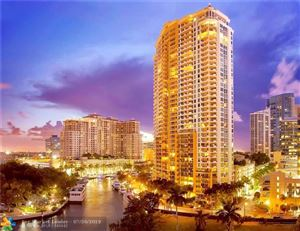 Tiny photo for 411 N NEW RIVER DR E #2402, Fort Lauderdale, FL 33301 (MLS # F10161405)