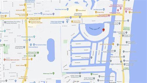 Photo of 126 Golden Isles Dr #42A, Hallandale, FL 33009 (MLS # F10262407)