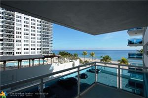 Tiny photo for 3430 Galt Ocean Drive #405, Fort Lauderdale, FL 33308 (MLS # F10150408)