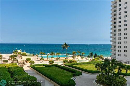 Photo of 4280 Galt Ocean Dr #4G, Fort Lauderdale, FL 33308 (MLS # F10224410)