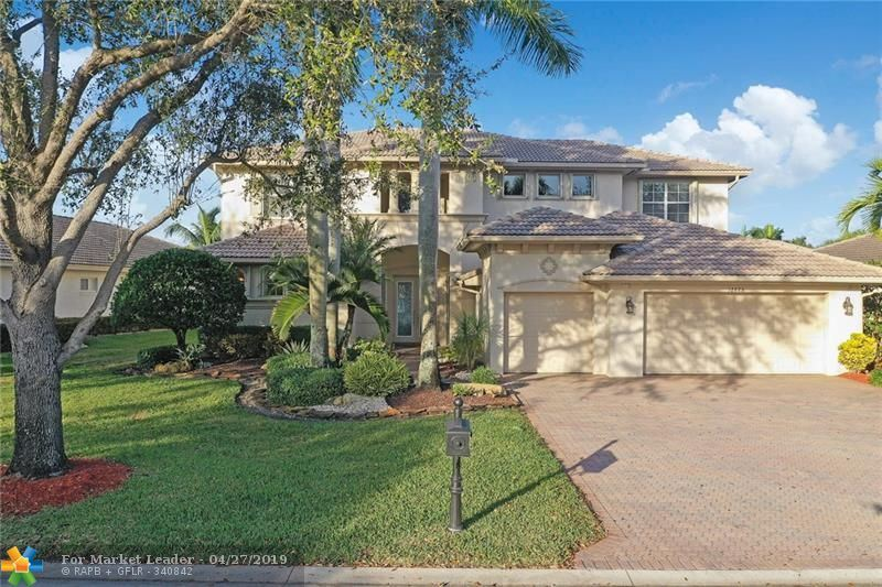 Photo for 12625 NW 76th St, Parkland, FL 33076 (MLS # F10156414)