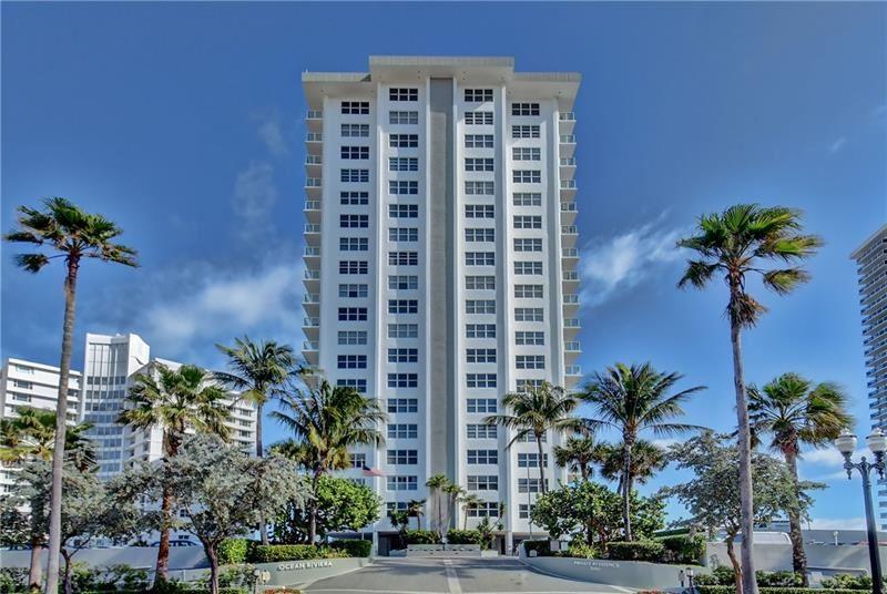 Photo of 3550 Galt Ocean Dr #202, Fort Lauderdale, FL 33308 (MLS # F10270414)