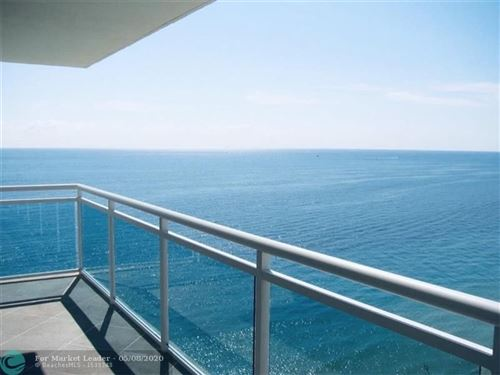 Photo of 3900 Galt Ocean Dr #1601, Fort Lauderdale, FL 33308 (MLS # F10208418)