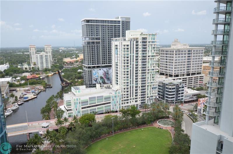 Photo of 333 Las Olas Way #2505, Fort Lauderdale, FL 33301 (MLS # F10231418)