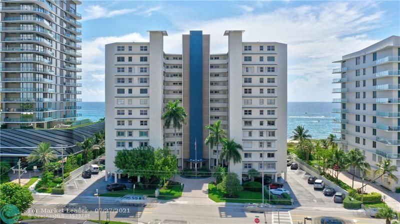 Photo of 710 N Ocean Blvd #403, Pompano Beach, FL 33062 (MLS # F10292419)