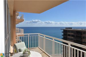 Photo of 3850 Galt Ocean Dr #1805, Fort Lauderdale, FL 33308 (MLS # F10157421)