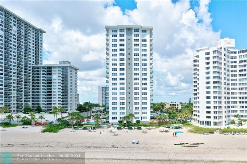 Photo of 3550 GALT OCEAN DR #705, Fort Lauderdale, FL 33308 (MLS # F10299422)
