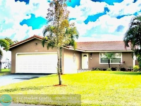 Photo of Listing MLS f10227423 in 1227 NW 87th Ave Coral Springs FL 33071