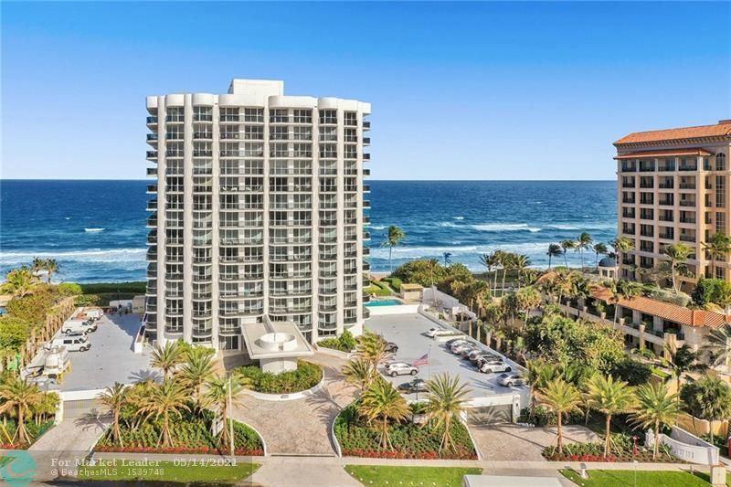 350 S Ocean Blvd #5C, Boca Raton, FL 33432 - #: F10284423