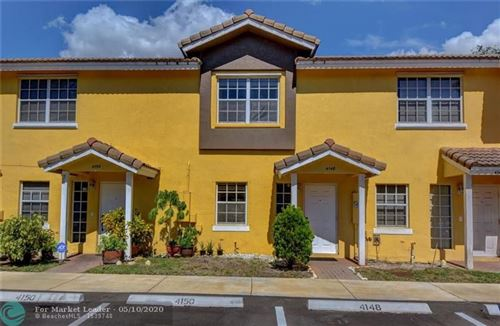 Foto de inmueble con direccion 4148 NW 67th Ter #4148 Lauderhill FL 33319 con MLS F10228424