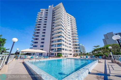 Photo of 3000 Holiday Dr #904, Fort Lauderdale, FL 33316 (MLS # F10261424)