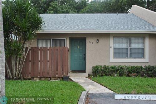 Photo of 886 Banks Rd #886, Coconut Creek, FL 33063 (MLS # F10242425)