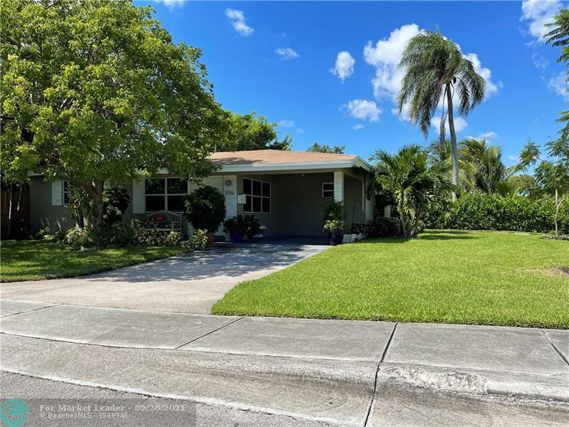 Photo of 316 NW 45th Ct, Oakland Park, FL 33309 (MLS # F10302425)