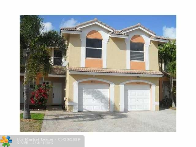 Photo for 5492 NW 90th Ter #5492, Sunrise, FL 33351 (MLS # F10176428)