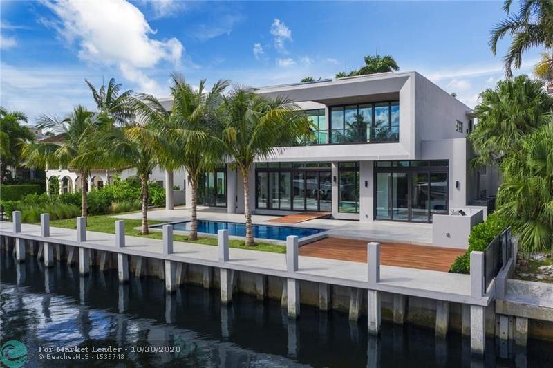 Photo of 444 Coconut Isle Dr, Fort Lauderdale, FL 33301 (MLS # F10226428)