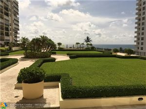 Photo of 4280 E Galt Ocean Dr #2B, Fort Lauderdale, FL 33308 (MLS # F10089429)