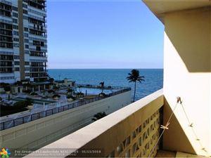 Photo of 4250 Galt Ocean Dr #5J, Fort Lauderdale, FL 33308 (MLS # F10102429)