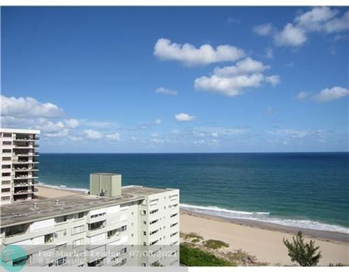 Photo of 1900 S Ocean Blvd #14H, Lauderdale By The Sea, FL 33062 (MLS # F10291430)
